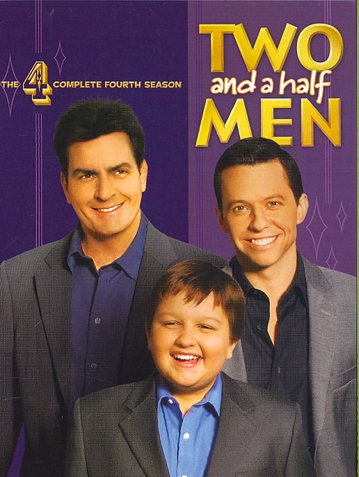 TWO AND A HALF MEN:COMP FOURTH SEASON BY TWO AND A HALF MEN (DVD)